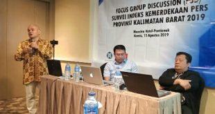 DP Gelar FGD Kemerdekaan Pers di Kalbar