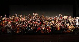 Pergelaran Antarbudaya dalam 'Pesta Perpisahan' oleh Siswa dari Seluruh Indonesia