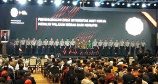 Polres Sambas dan Polres Mempawah Mendapat Predikat Wilayah Bebas Korupsi Dari KemenPAN-RB
