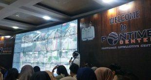 Kunjungan Administrasi Negara Politeknik Negeri Pontianak ke  Pontive Center Pontianak