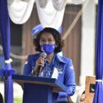 Erma Ranik, peletakan batu pertama gedung DPD Demokrat