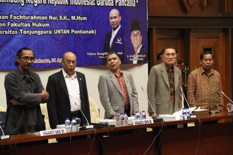 seminar nasional Fraksi Nasdem di DPR RI