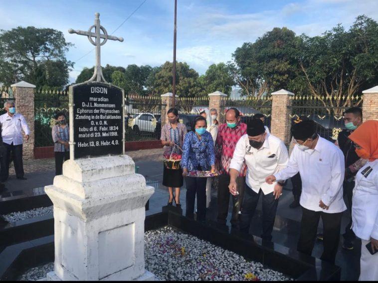 Ketua DPD RI Ziarah Pahlawan Sisingamangaraja