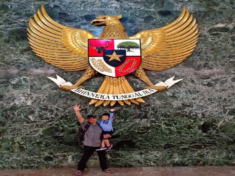garuda di monumen Nasional