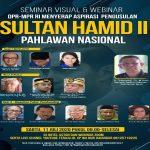 sultan hamid II Perancang Lambang Negara