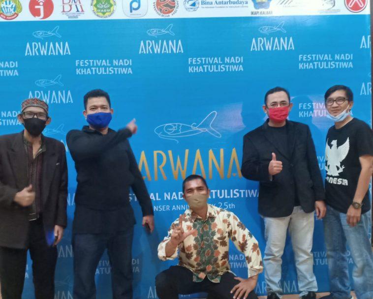 Undangan khusus Very Furdaus Yaser Nuris Anshari Dimyati dan Sany Alkadrie. Foto dok panpel Fena khaTULIStiwa 2020.