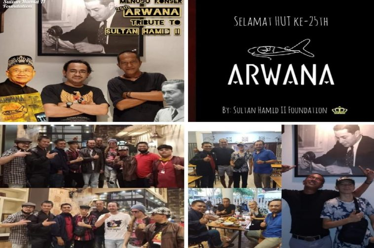 konser 25 th arwana tribute to sultan hamid II