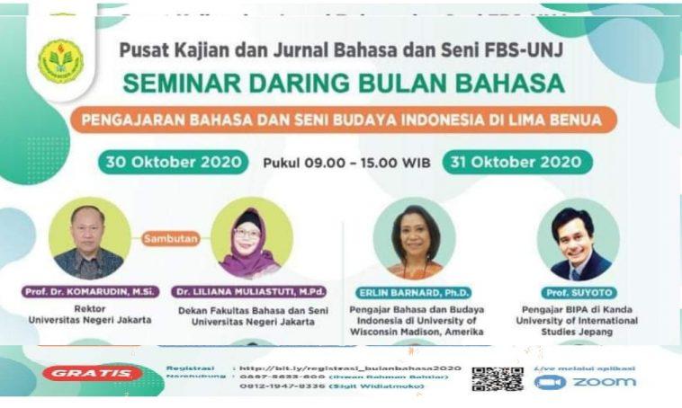 seminar daring bulan bahasa