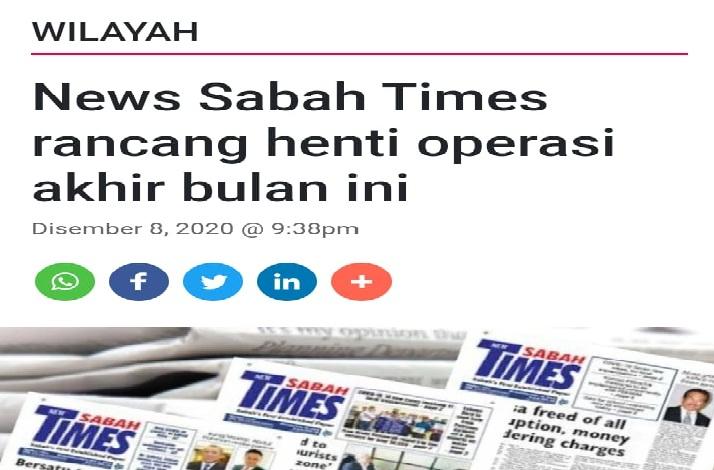 news sabah times
