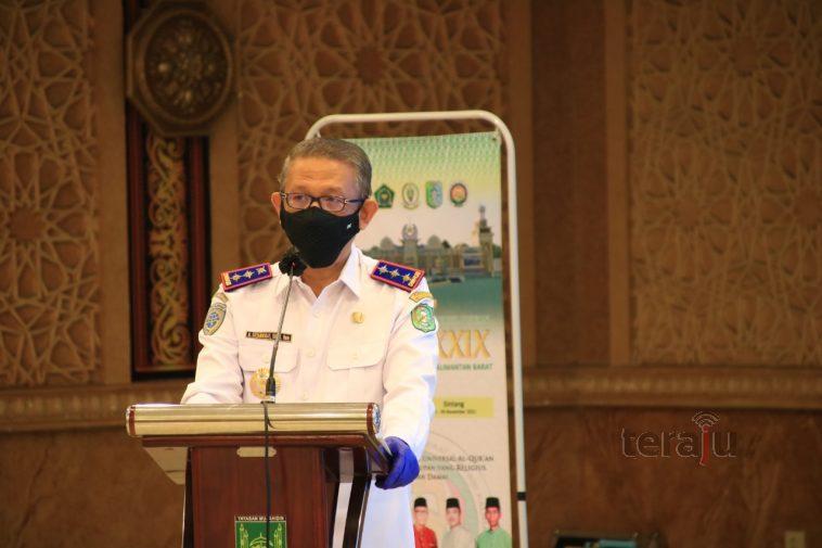 Sintang Tuan Rumah untuk 960 Peserta Gubernur Luncurkan Logo MTQ XXIX Kalbar.1