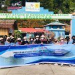 HMJ Teknik Arsitektur Polnep Berdayakan Masyarakat Pulau Lemukutan